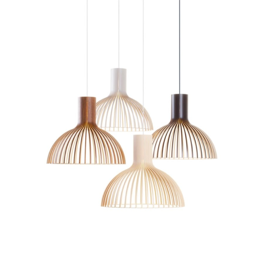 Hanging pendant lights by Design Farm
